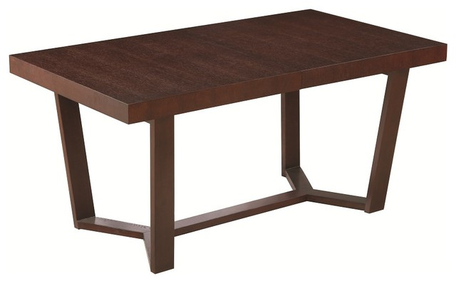 Rectangular Shaped Dining Table Modern Dining Tables By EuroLux