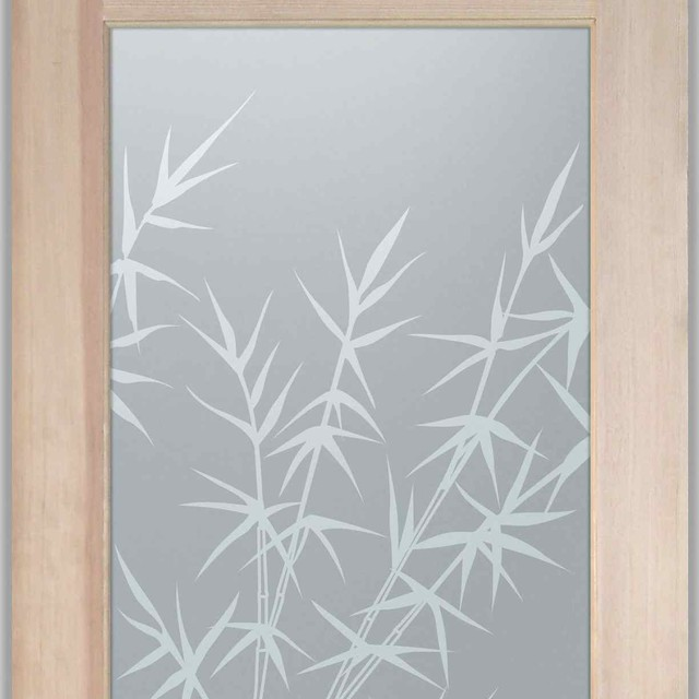 Bathroom Doors - Interior Glass Doors Frosted - Bamboo ...