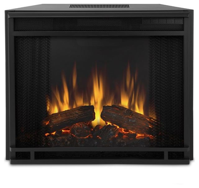 Real Flame Electric Firebox Modern Indoor Fireplaces