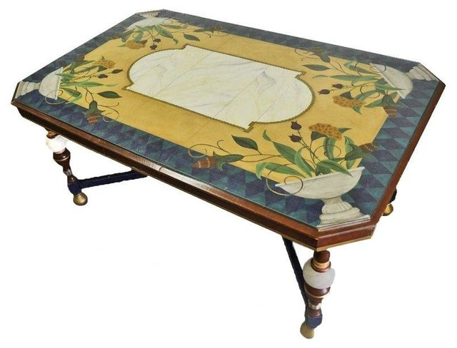 Hand Painted Dining Table Contemporary Dining Tables  : contemporary dining tables from houzz.com size 640 x 488 jpeg 58kB