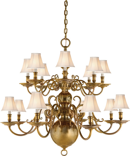 Lillianne Double Tiered Chandelier Contemporary