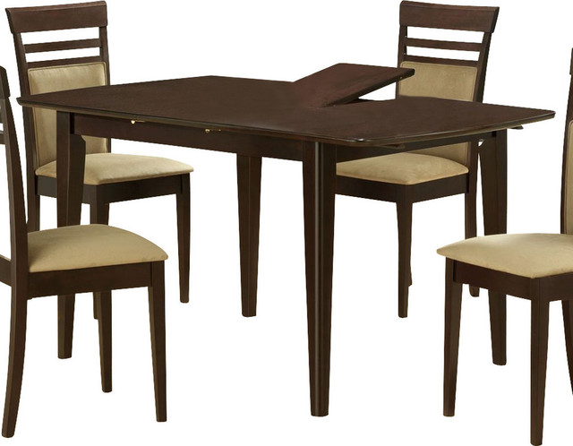 Monarch Specialties 48 X 36 Dining Table With 12 Inch Butterfly Leaf Contemporary Dining