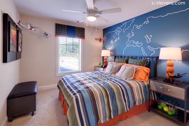 burlington iv boy 39 s bedroom traditional bedroom raleigh by