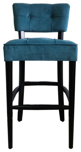 Sophia barstool aqua 30 inch contemporary bar stools and counter stools - Teal blue bar stools ...