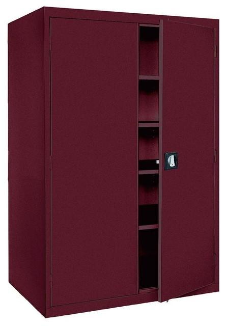 Free Standing Cabinets Racks & Shelves: Sandusky Garage Cabinets Elite Series - Contemporary ...