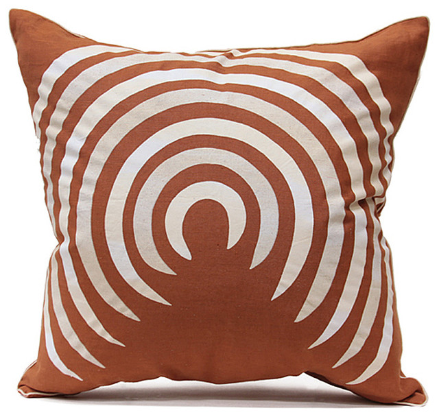 Corkscrew Pillow - Eclectic - Decorative Pillows - by Bliss Home and Design