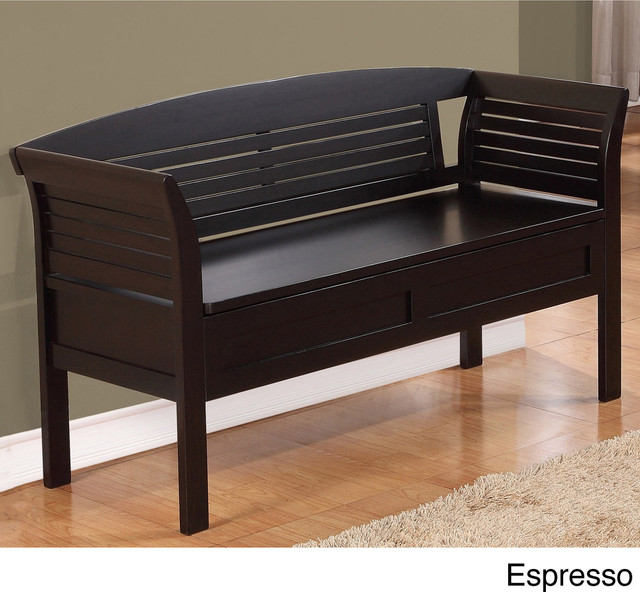 Houzz Foyer Bench : Raleigh entryway storage bench contemporary accent and