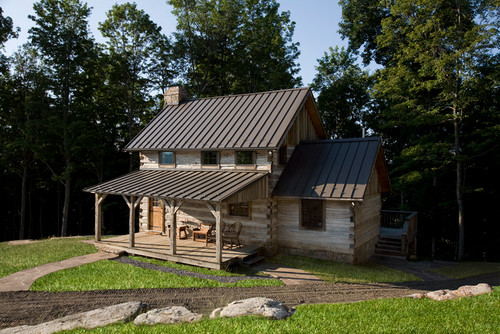 Antique Log Cabin Restoration
