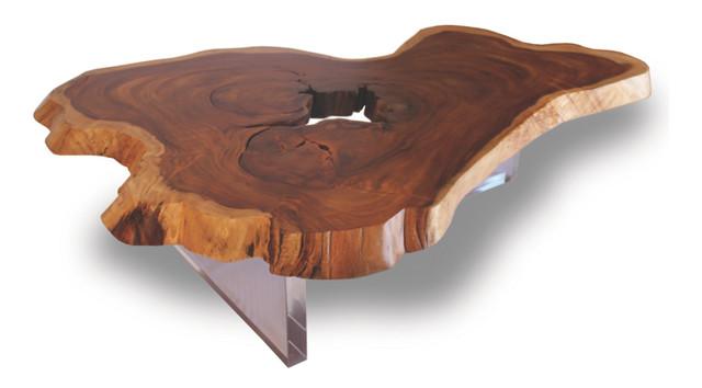 tree slab coffee table 1