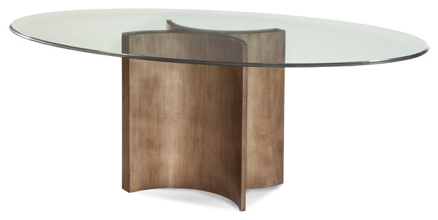 bassett mirror thoroughly modern symmetry dining table