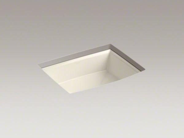 Kohler Archer Undermount Bathroom Sink : KOHLER Archer(R) undermount bathroom sink contemporary-bathroom-sinks