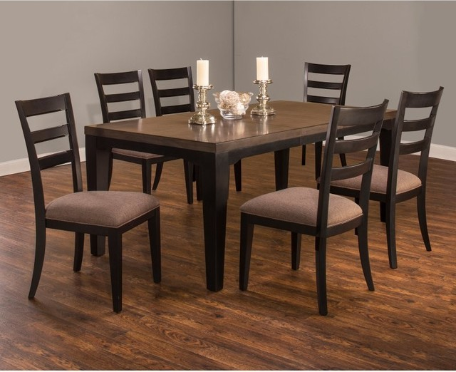 Hillsdale sheridan 7 piece dining table set 5756dtbc7 for 10 piece kitchen table set