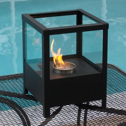 sparo indoor outdoor table top ethanol fireplace