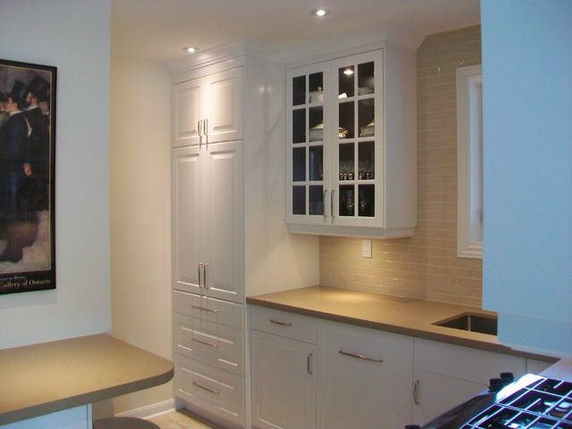 IKEA Kitchens - Lidingo White traditional