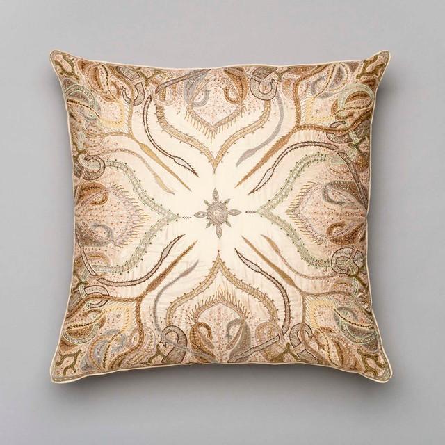 Traditional Decorative Pillows : ANICHINI Omar Khayam Pillow - Traditional - Decorative Pillows - los angeles - by ANICHINI