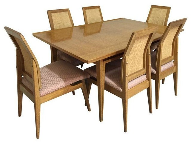 mid century modern dining room set modern dining sets