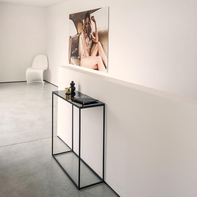 rack konsoltisch modern konsolentische other metro. Black Bedroom Furniture Sets. Home Design Ideas