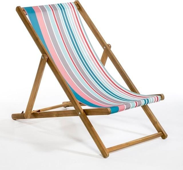 Chilienne acacia contemporain chaise longue et - Chilienne bois pas cher ...