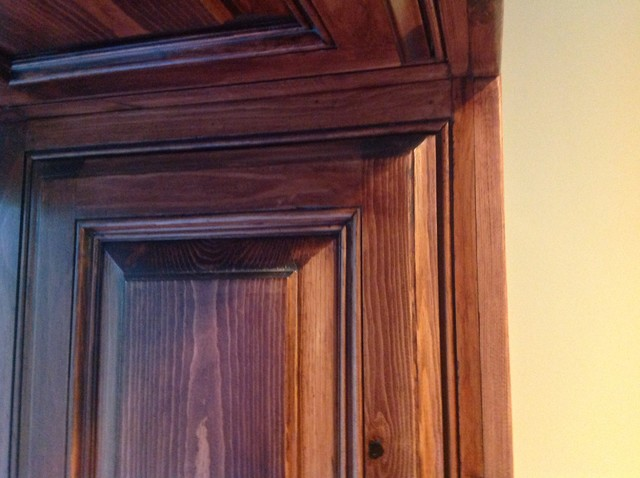 iPad Snap Shots: Knotty Pine Built-In