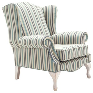 Savoy Handcrafted Wing Chair Traditional Armchairs And Accent Chairs By Domayne Online