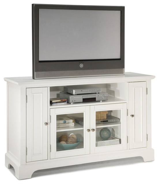 Naples TV Credenza, White transitional-entertainment-centers-and-tv ...