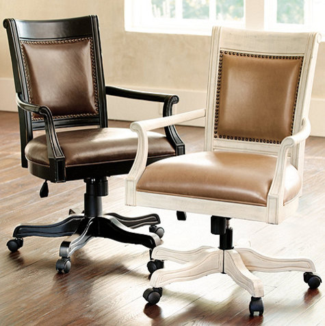 Kingston Desk Chair Traditional Office Chairs By Ballard Designs