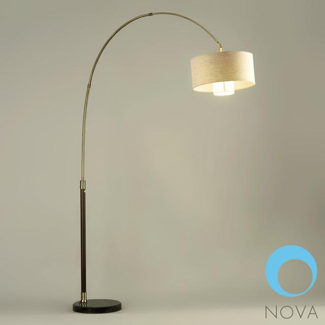 nova veld arc floor lamp modern floor lamps los angeles by. Black Bedroom Furniture Sets. Home Design Ideas