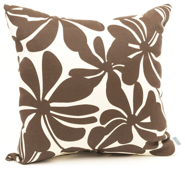 Large Decorative Outdoor Pillows : Outdoor Plantation Pillow - Tropical - Outdoor Cushions And Pillows - by Majestic Home Goods