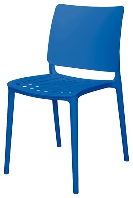 Source Contract Scdc845 Blu Marcay Side Chair Blue Modern Outdoor Dining