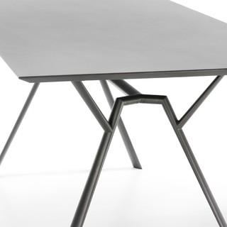 radice quadra outdoor tisch bauhaus look outdoor gartenm bel von. Black Bedroom Furniture Sets. Home Design Ideas