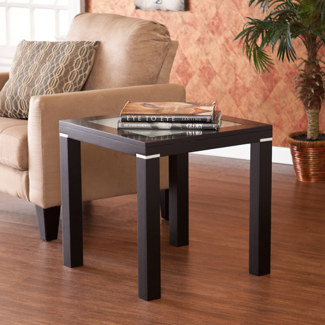 Upton Home Edmund End Side Table Contemporary Side Tables End Tables By