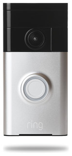 Ring Video Doorbell, Satin Nickel