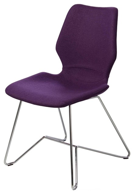 luxor chair purple modern dining chairs by artefac. Black Bedroom Furniture Sets. Home Design Ideas