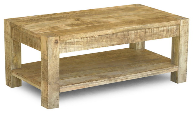 simple rustic coffee table 1