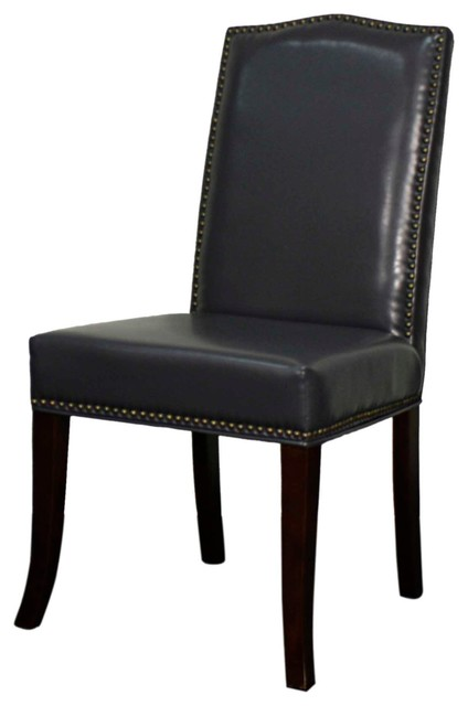 Quinn Bonded Leather Chair Espresso Legs Payne 39 S Gray Set Of 4 Trans