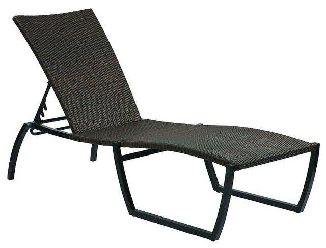 Skye chaise lounge with cushion sunbrella arbor maize for Chaise longue tours