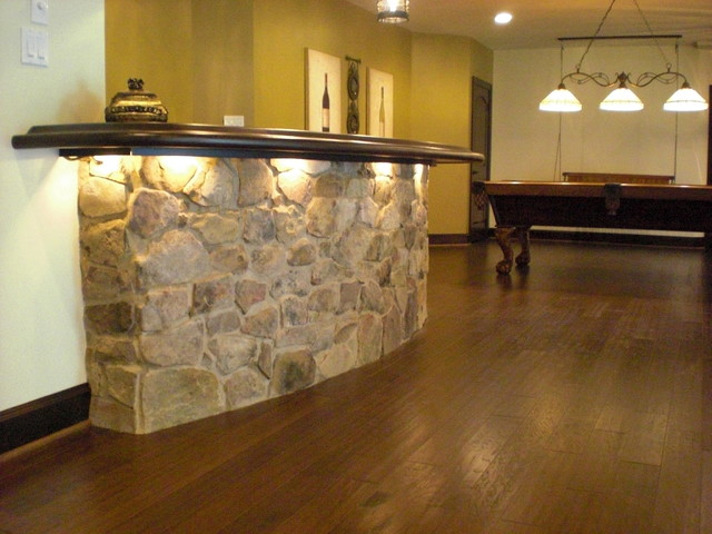 Basement remodel in west chester pa traditional for Western basement ideas