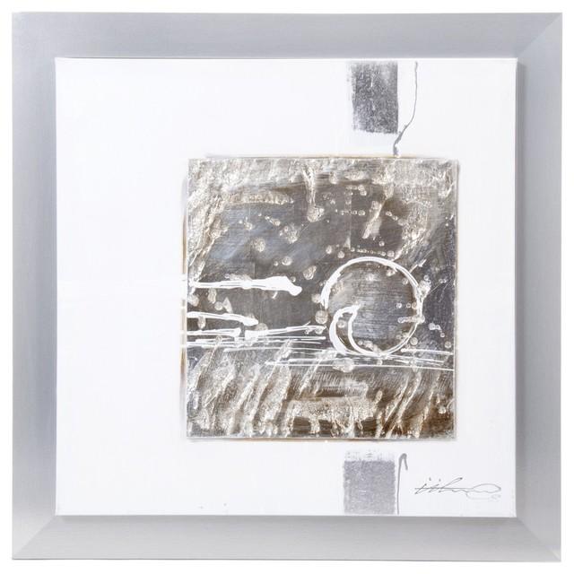 crumble peinture sur toile avec cadre moderne tableau d 39 art par alin a mobilier d co. Black Bedroom Furniture Sets. Home Design Ideas
