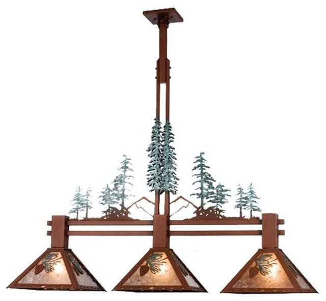 Kitchen Island Lighting Rustic: Meyda Lighting Island Lighting