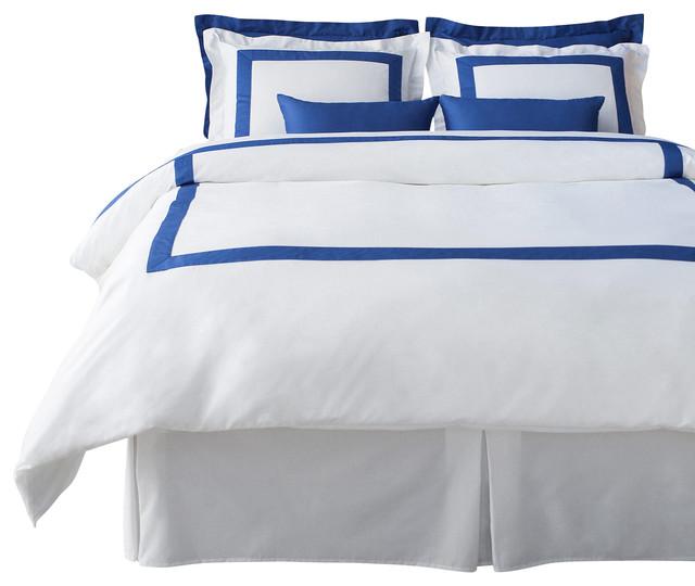 lacozi blue white duvet cover set contemporary duvet covers and duvet sets by lacozi. Black Bedroom Furniture Sets. Home Design Ideas