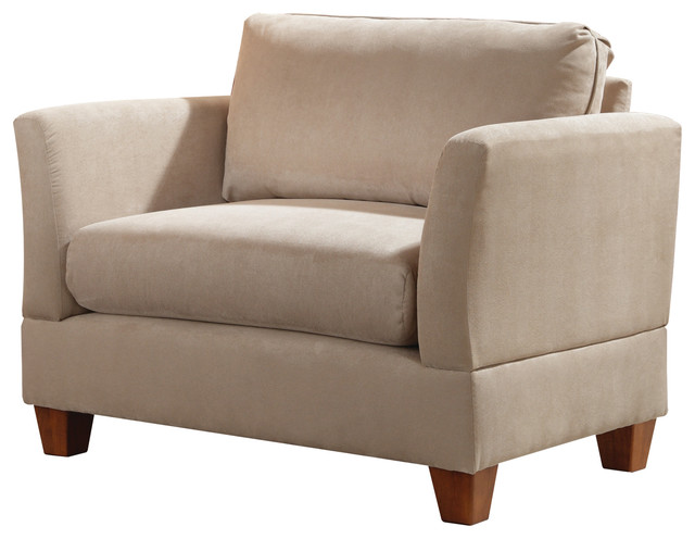 Lorelei Brooks Chair And A Half Ash Modern Living Room Chairs By Simpl