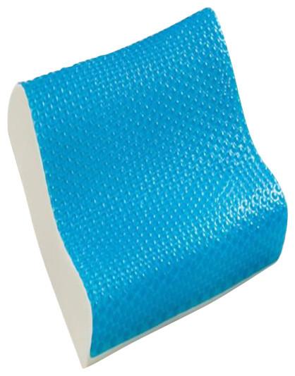 Comfort Revolution, Hydraluxe Gel Contour Blue Bubble Memory Foam Pillow - Contemporary - Bed ...
