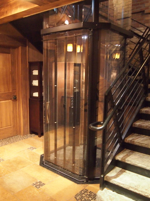 Custom home elevators new york by visilift elevators for Luxury home elevators