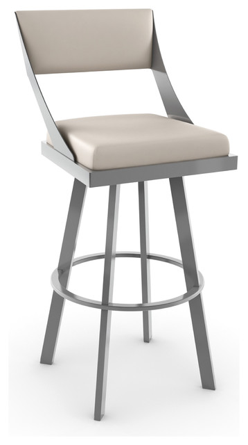 Amisco Fame Swivel Bar Stool 41468 34 Inches Counter