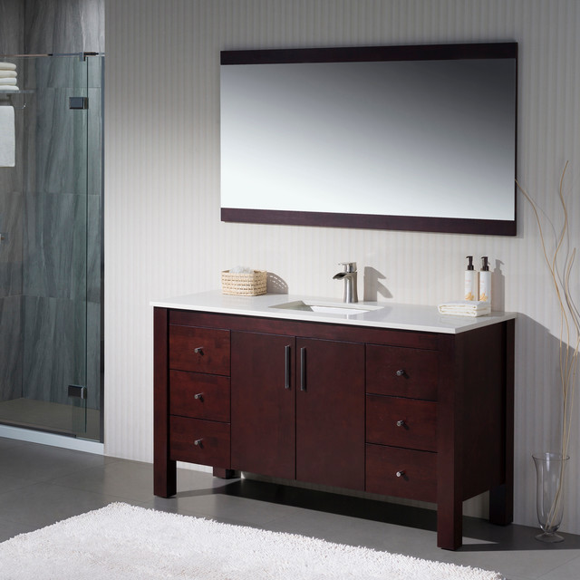 Modern bathroom vanities transitional miami by for Bathroom cabinets miami