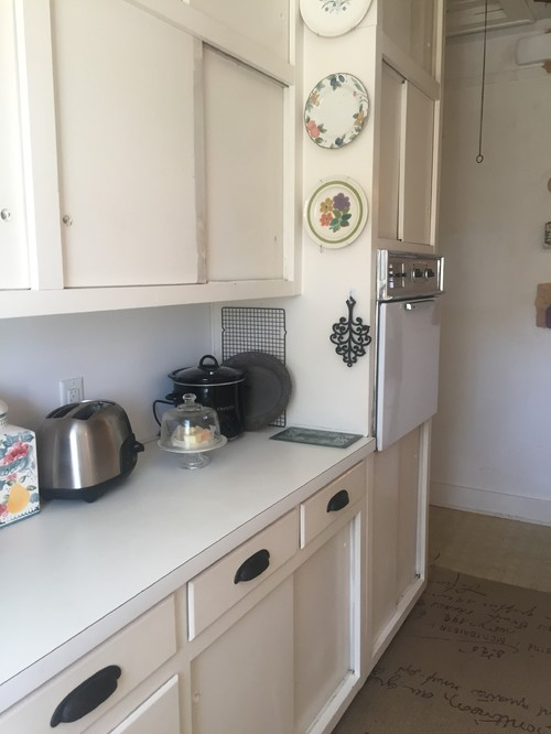 Help With My Kitchen, Original 1928 Tudor Remodeled In 1960
