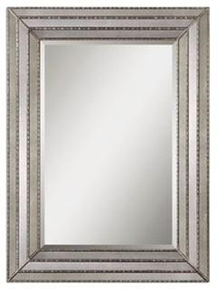 Uttermost 14465 Seymour Mirror In Antique Silver