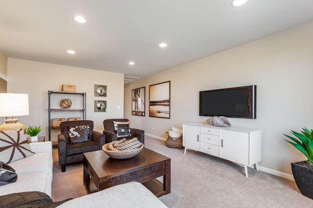 pulte ascend interior traditional living room