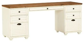 Whitney Rectangular Desk Set 1 Desktop Amp 2 3 Drawer File