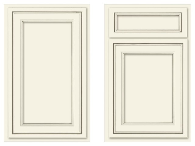 Canvas recessed panel - Traditional - Kitchen Cabinetry ...